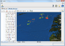 geozilla screenshot 4 : WMS : Pipelines and Oil\amp;Gas fields